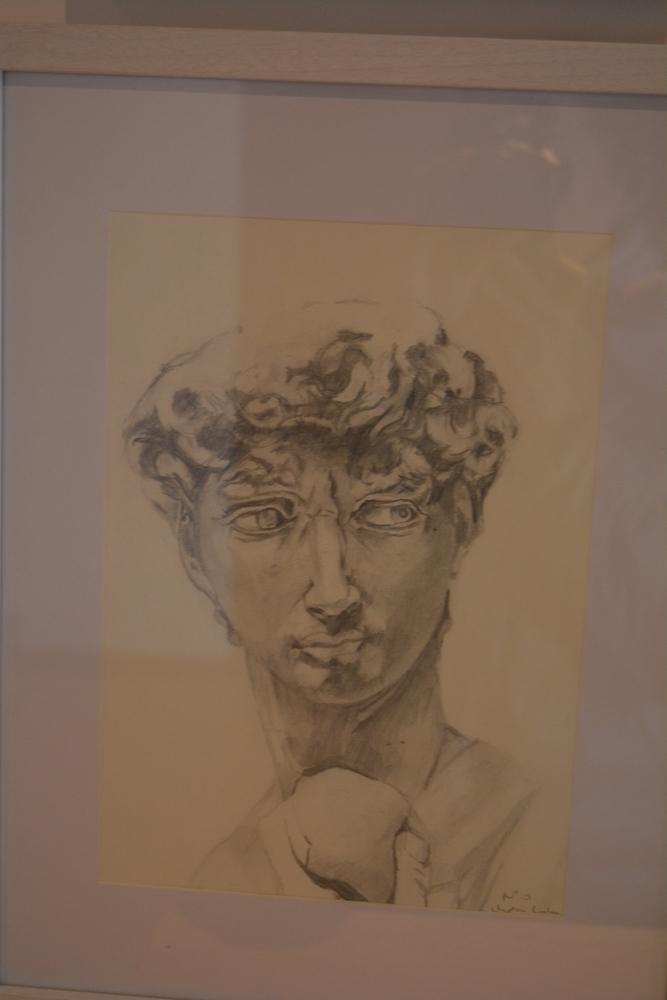 Retrato a lápiz Marta Labrador