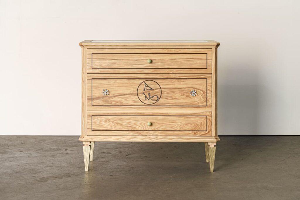 mueble histórico artemadegemar diseño de marta labrador